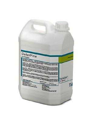 DeterPine é um detergente com pH neutro que possui um grande poder de limpeza, remove as mais variadas sujidades sem agredir o meio ambiente e não danifica nenhum tipo de superfície lavável.