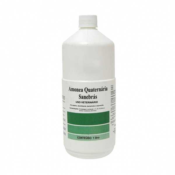 A Amônea Quaternária Sanebrás 50% é um produto tradicional na história da saúde animal brasileira, com padrão de qualidade e garantia para produção animal.