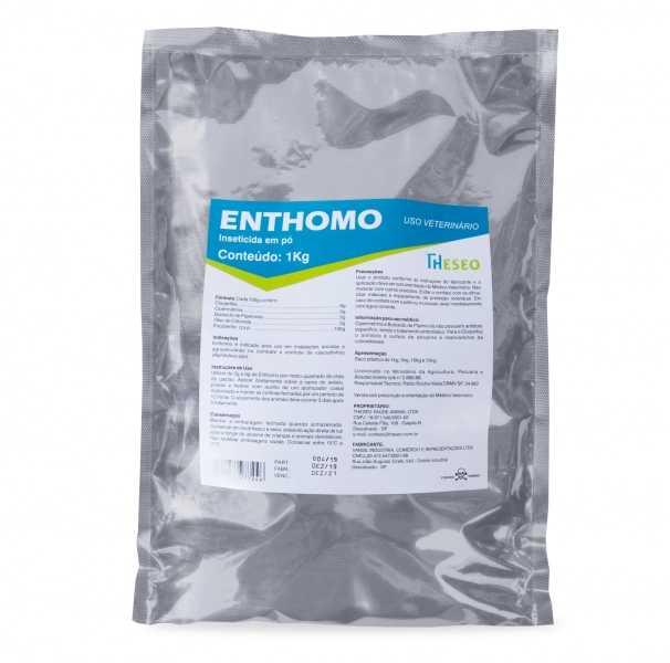 Enthomo é a solução da Theseo para controle de cascudinhos em aviários. Formulado com diferentes classes de inseticidas mais um potencializador, Enthomo é eficaz no combate e controle de Alphitobius spp.
